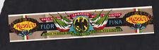 Ancienne grande bande lytho Bague  Cigare Vitola BN118975 Aigle Mexico