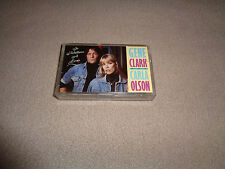 Gene Clark & Carla Olson ‎– So Rebellious a Lover - Rhino Cassette Tape - EX