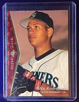 1995 Upper Deck SP Alex Rodriguez Baseball Card #188