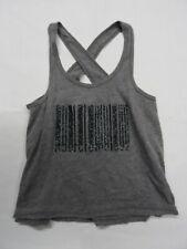 Abercrombie Girls Top - Gray - Tank - S (10) - EUC