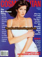 Cosmopolitan 1/97,Stephanie Seymour,January 1997,NEW