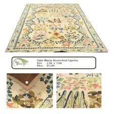 Claire Murray Woven Wool Tapestry Rug