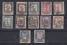 FRANCOBOLLI USATI LIBIA 1921 PITTORICA PREZZO REGALO SS 21/32 € 300,00 VEDI FOTO