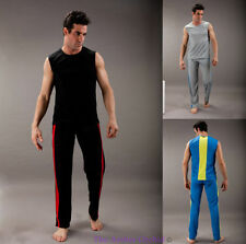 Full Length Lightweight Sleeveless Activewear for Men