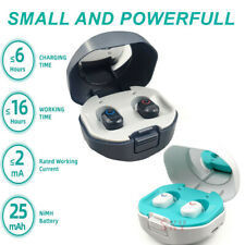 Mini In Ear Rechargeable Digital Hearing Aids Sound Amplifier Invisible Enhancer