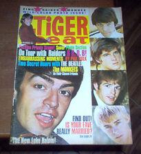 Tiger Beat Magazine 1966 The Beatles Monkees Raiders Sonny & Cher London Scene