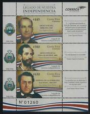 Costa Rica Legacy Of Our Independence MNH 2019 NEW