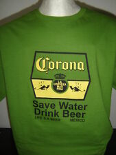 "3.- CAMISETA ""CERVEZA CORONA"" t-shirt large size L 100% cotton wrestling"