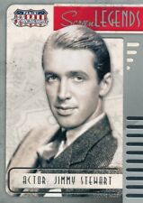 Jimmy Stewart 2015 Panini Americana Screen Legends Insert Card #10