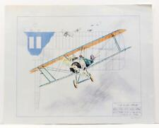 Sopwith F1 Camel Paul Geygan Final Strike Airplane Litho Signed Numbered #S591