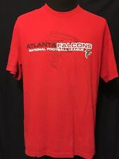 Atlanta Falcons ATL NFL NFC Football Team Logo Size XL Red Short Sleeve T-shirt