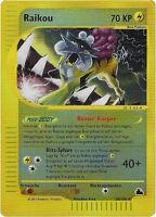 CCG 59 Pokemon Skyridge Reverse Holo Raikou 28/144 Deutsche Karte BGS / PSA 9.0?