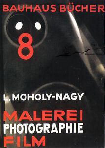Kunst- Doppelkarte  - BAUHAUS  - Làszlò Moholy-Nagy:  Umschlagseite