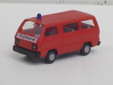 "Mitsubishi L 300 Bus in rot ""Feuerwehr"", o. OVP, Rietze, 1:87"