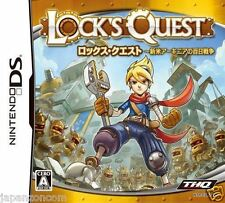 Used DS Lock's Quest NINTENDO JAPANESE IMPORT