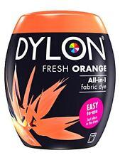 Dylon peinture de Textile Fresh Orange couleur & Fixateur pour 600g Tissu Dye
