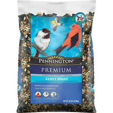 Wild Bird Premium Select Blend Feed and Seed Food Treats Year-Round 20 lb Bag