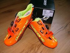 ORIG. zapatos gaerne carbon G. stilo-Orange Flow talla 41 Cycling ciclismo Shoes