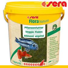 Sera 10l Flora Natürlich Plant Food IN Bucket Aquarium Fish Rearing Growth