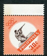 PHILIPPINES;  1960 early Olympics issue Mint MNH Unmounted 30c.