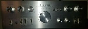 KENWOOD●MODEL KA-8100●DC STEREO INTEGRATED AMPLIFIER●75 PURE POWER A SIDE●LOUD