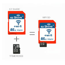 EZ Share Micro Wireless Wifi SD Adapter SDHC Class 10 Flash Memory Card Reader