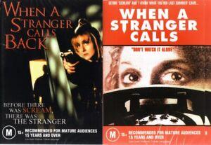 WHEN A STRANGER CALLS & CALLS BACK - 2 BRAND NEW DVD'S FREE LOCAL POST