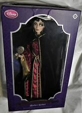 """Disney Store Limited Edition Tangled Mother Gothel 17"""" Doll 1/1500 NIB"""