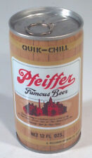 Vintage Pfeiffer Beer Can 12oz Steel Heileman Bottom Opened