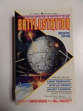 Battlestation Book One ed. David Drake ACE Books 1992 Vintage Sci-Fi Paperback