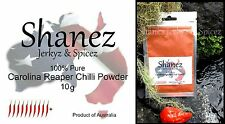 CAROLINA REAPER POWDER Sale!! -10g  WORLDS HOTTEST SHANEZ