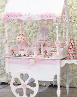New For Sale Wedding Sweet Candy Cart, Fully Collapsible, Candy Carts, Sweets