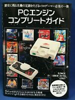 PC Engine Complete Guide Catalog Book Japanese Video Game HuCard CD-ROM2