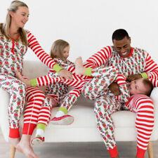 Familia Navidad Pijama Hombres Ropa para dormir Ropa de Dormir Navidad Pijamas Conjuntos Navidad que empareja