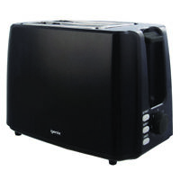 Igenix IG3012 2 Slice Toaster, 750W - Black