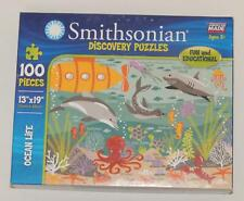 "SMITHSONIAN Discovery Puzzles ""Ocean Life"" 100 Piece Jigsaw Puzzle"