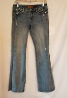 Women's Seven7 Jeans Size 28 Distressed Boot Cut Low Rise