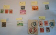 Lot of 17 Stamps from South Latin American Argentina Brazil Bolivia Peru Ecuador