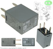 GM 13500114 Vauxhall Opel & Chevrolet (2005-2019) Hi Power 4-Pin Grey Relay 8385