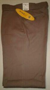 NWT Flying Cross Uniform Pants 34 Regular Unhemmed 36233 Visa System Polyester