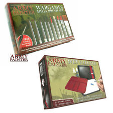TAPST5113 & TAPTL5051 Army Painter Warpaints Mega Brushes & Wet Palette Combo
