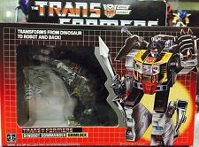 BRAND NEW TRANSFORMERS DINOBOT GRIMLOCK G1 WITH BOX SET K.O VER