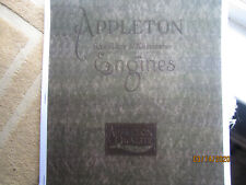 1914 Appleton Gas Engine Catalog All sizes,1 1/2 to 10Hp hit miss, mags, pumps