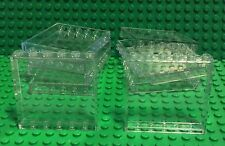 Lego 10 Trans-clear 1x6x5 Panel / Glass Wall / Window Bulk Translucent Parts Lot