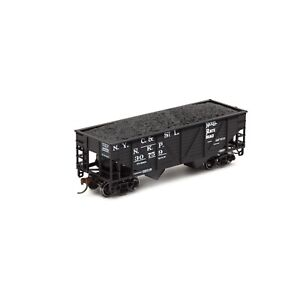Athearn 70237 34' 2-Bay Hopper with load Nickel Plate Road #30759