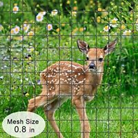 Agfbaric 7'x20' Deer Fence, Plants Safety Netting, Reusable Deer Fencing Black