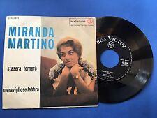 Miranda Martino - Stasera tornerò - RCA italiana 45N 0944
