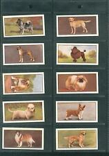 Barbers Teas Dogs Full Set of 24 Cards In Display Sleeves.