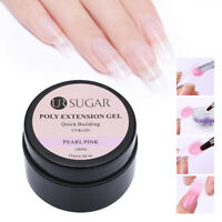 UR SUGAR 15ml Quick Building Vernis Gel UV Finger Extension Nail Art Manucure