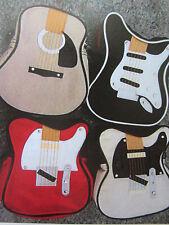 Pochette bandoulière guitare  , 4 couleurs disponibles